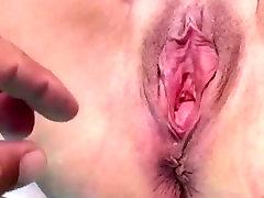 The gigantic gapping peeing princess pussy of UK milf Katherine Brown