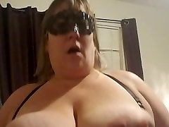 POV BBW Wife Misses Hubby and Wishes She Was Riding Him