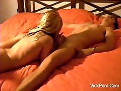 Young Blonde Couple Homemade Fucking