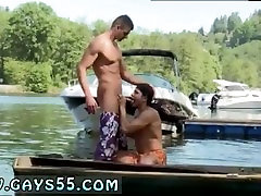Hardcore gay teacher porn Two Dudes Have Anal Sex On The Boat!