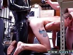 Russian straight guys gay sex Dungeon sir with a gimp