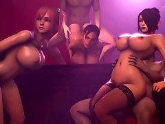 3d Big boobie bitches fucked hard