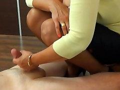 Mature lady makes you cum
