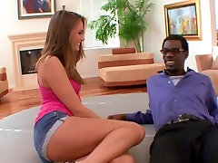 Teen Tori Black fucked by her black stepdads big dick