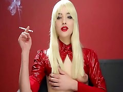 smoking in your face