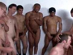 Teen male gay porn video and home objects for anal male masturbation When