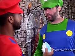 Power-Up, Santehniķi - Gay XXX Cosplay Mario Bros Parodija