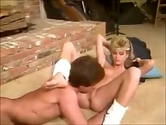 Retro blonde does it ALL right. Then finishes him off to a big explosion