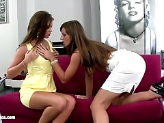 Lesbiansex with sex toy