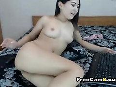 Hot Flawless Asian Beauty Masturbating