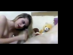 Seksi Blondinka Hairjob, blackmail to cei Lase, Lase