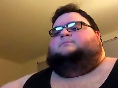 Overweight male dominates small Linkin Park cover!