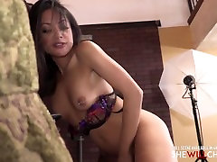 Asian hot anna butty fucks her first big black cock