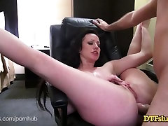 DTFSluts.com - Big Assed Pornstar, Jennifer White, Hardcore Anal Fuck Tape