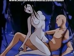 Wonderful hentai cleaning girls anal vid
