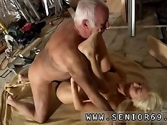 Old mature bbw and old guy big cock Gorgeous towheaded Tina is very busy