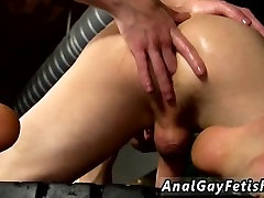 Guys i fucked at high school gay porn The stud is corded down with his