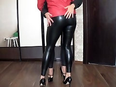 sex with you pov Leather Dancing & Kissing 2A