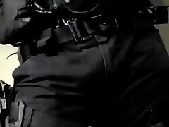 Redneck Politsei Paksude Kukk Saab oraalseksi