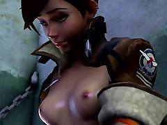 Tracer and WidowMaker in Overwatch have sex