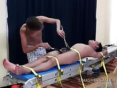 Tickling Gay Asian Twink Warren