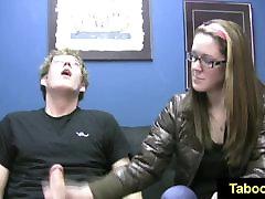 FetishNetwork Nicole first nikki sexx massaged handjob