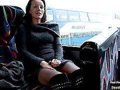 Mature staci doll big ass on the Bus