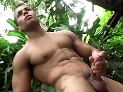 Latinos Threesome Gay Hardcore Sex Orgy