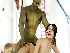 3D Police Girls Banged by Monsters!