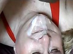 Mature bbw gets big load on her 1fuckdatecom