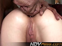 HDVPass Blonde amateur running train Gets Her Ass Pounded by H