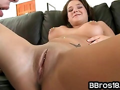 Awesome blowjob sex smex with Brunette mommy is the best with Pierced N
