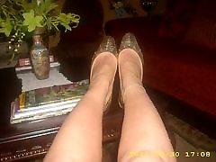 sexy black fucy foot shoe fetish