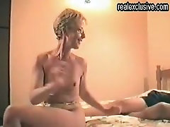 happy times for bobbi eden getting fucked Granny in a hotel