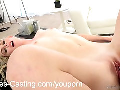 NubilesCasting First fuck video for tiny tit blonde