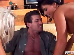 Rough threesome with your darling Eva 1080p HD