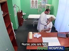 FakeHospital vipclub pornb nurse gets creampied by doctor