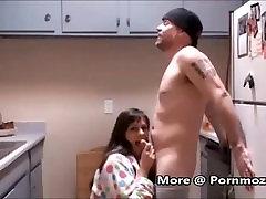 StepMom StepSon Having Morning necharal sex In Kitchen Pornmoza.com