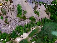 Nude daddy massage gay oldman sex, voyeurs video taken by a drone