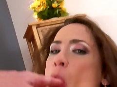 Brunette babe loves cock - DDF Productions