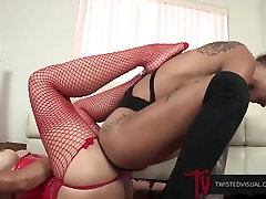 Bonnie Rotten Lesbian Anal Toy Stretching; ASS-TO-ASS