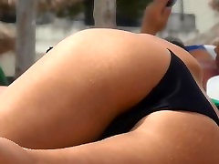 Sexy Ass Bikini meitenes Voyeur HD Video