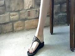 Zoe Dangles in Sandals