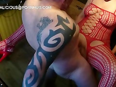 BANGING ON A BARSTOOL WITH ANAL, CUMMING AND SQUIRTING TOGETHER