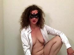 His cum in my pussy. HotwifeVenus in a cuckold Role Play