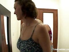 Brunette MILF Step Mom Fucks A Teen