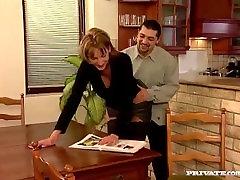 Adriana and Sylvi Anderson Go Wild in a spank slaves 3Way
