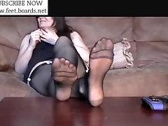 sukad,põlvik,nailon,jalad,varbad,tallad,jalad,kingad,footjob,720-878L