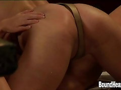 Golden Strapon For Naughty Lesbian Mistress