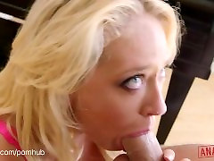 ANALIZED.COM - Busty Blonde, Kagney Linn Karter, Ass Pushed In And Gaped